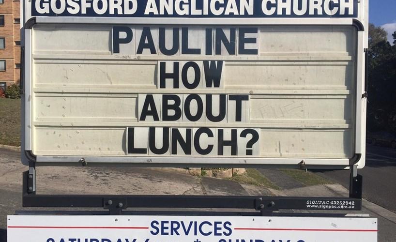 Anti-Islam stunt disrupts service at outspoken Australian church