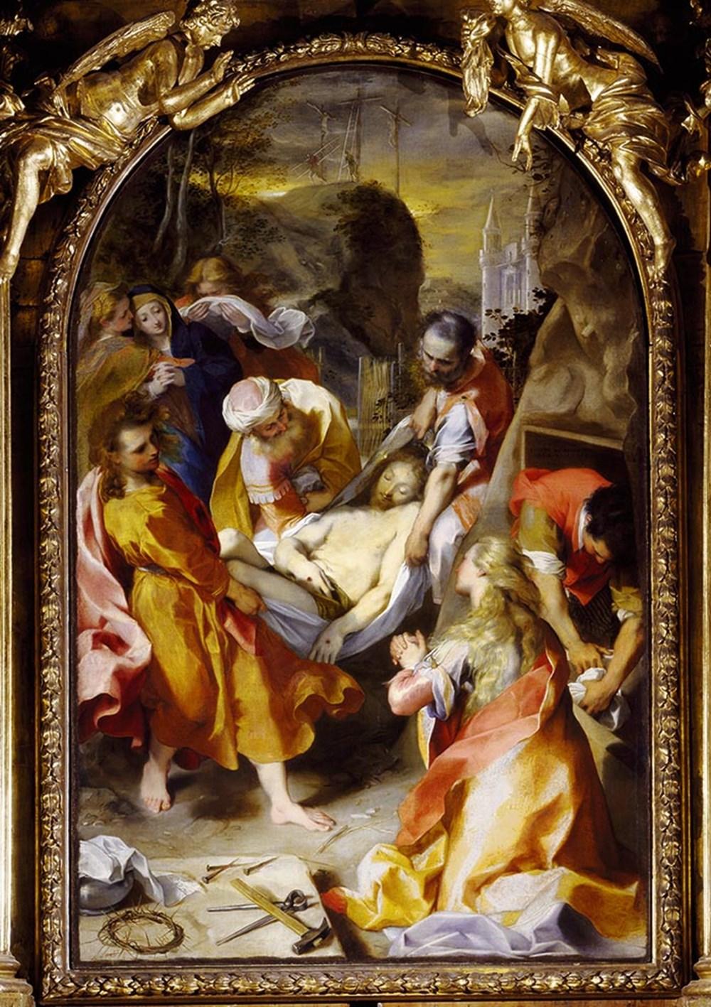 Картинки по запросу federico barocci entombment
