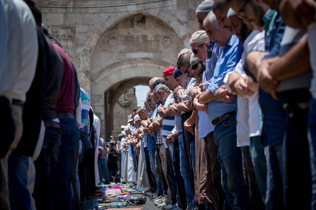 Israel says Jerusalem shrine metal detectors to stay despite protests