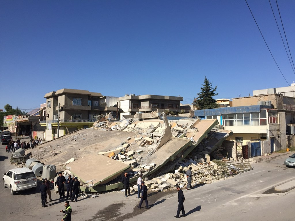 Death toll rises to 214 in catastrophic Iran-Iraq quake