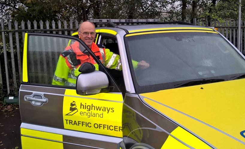 Interview: Chris Russell, traffic officer