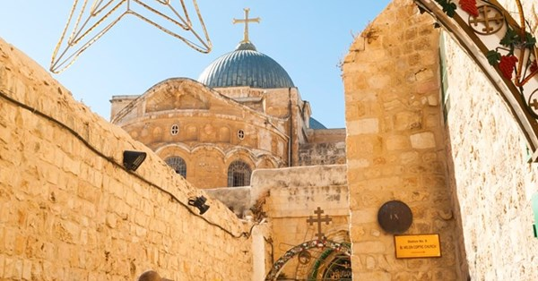 The Holy Land, where Jesus is present, not past
