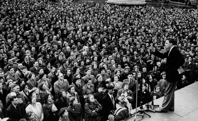 From the archive: Billy Graham in London, 1954