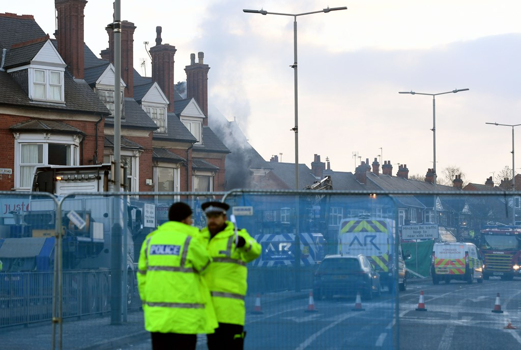 Mother and sons confirmed to be among five dead in Leicester explosion