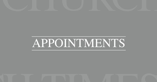 Appointments 02 Aug 2019