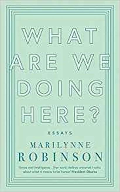Marilynne robinson essays