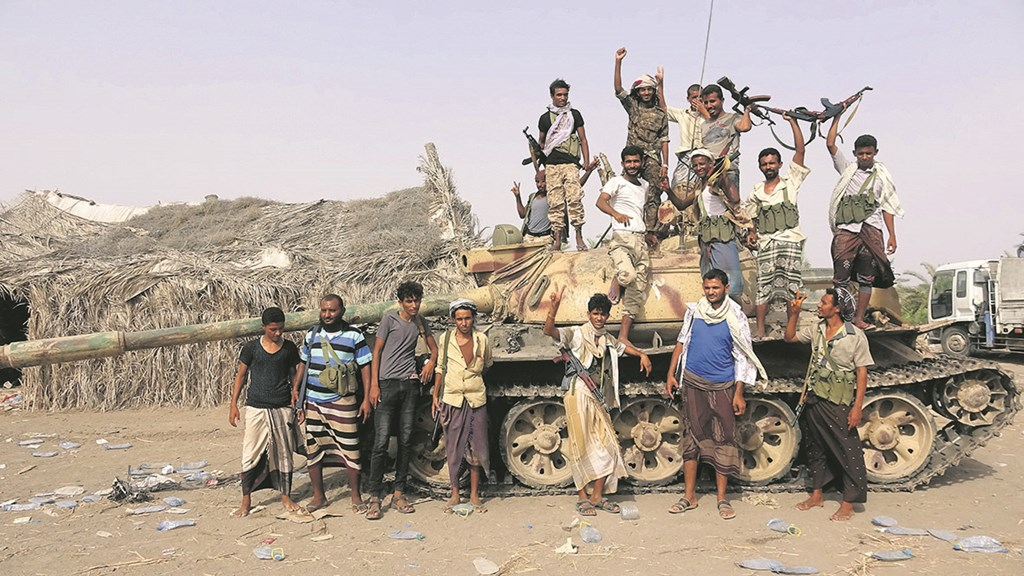 Yemeni Forces Destroy UAE Warship in Hudaydah