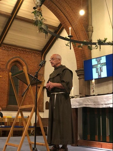 Three 'Young Franciscans' enter community in west London