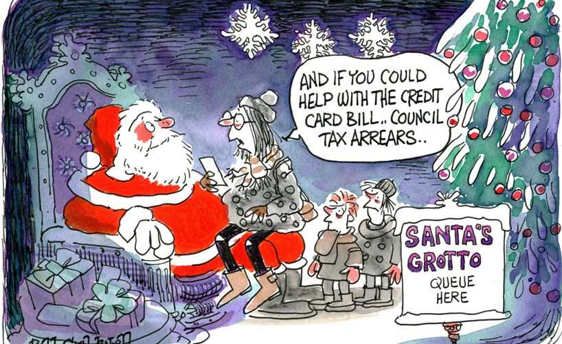 Its Christmas Eve.Family Tensions Money Worries It S Christmas