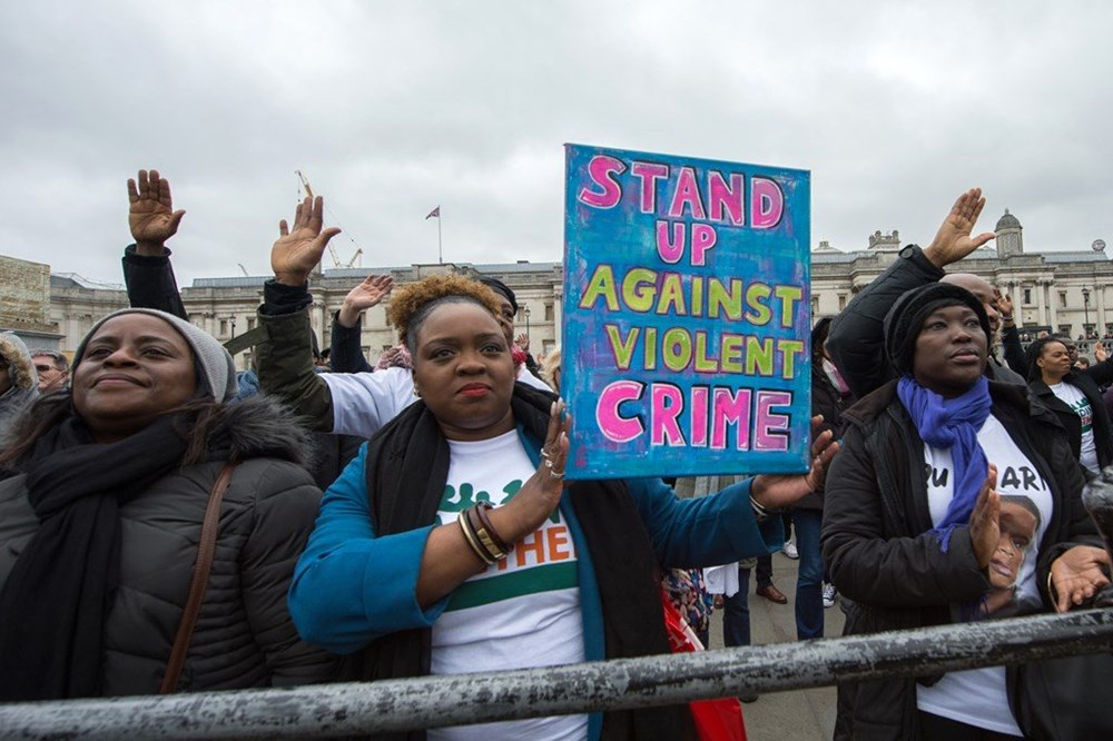 Churches In London Rally Against Violent Crime