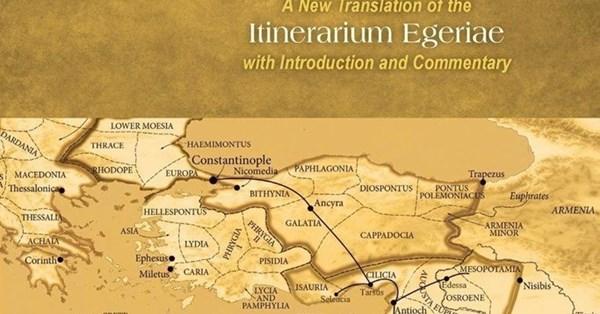 Resultado de imaxes para itinerarium egeriae