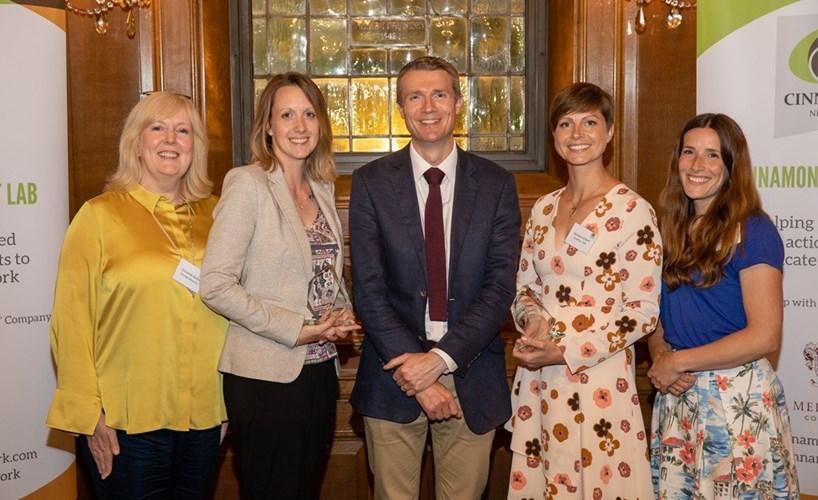 Christian charities win Cinnamon Network awards